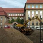 Baustelle in Friedrichshain