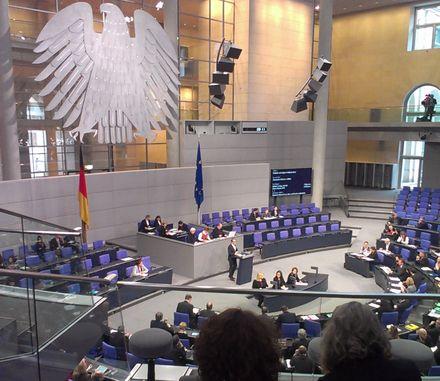 Aussprache im Bundestag: Verkehr und digitale Infrastruktur