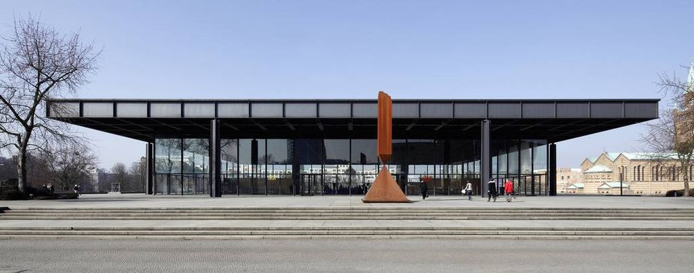 Neue Nationalgalerie. Kulturforum. Berlin-Tiergarten © Staatliche Museen zu Berlin / Maximilian Meisse
